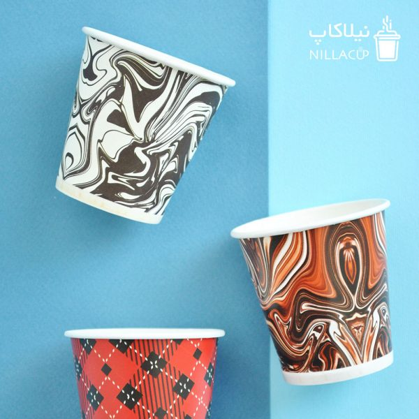 لیوان کاغذی دبل شات